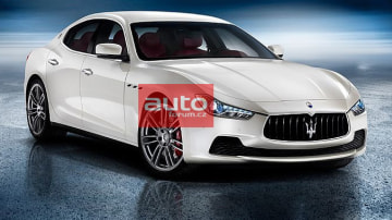Is This Maserati's 2014 Ghibli Sedan?
