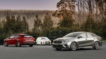 Kia Cerato and Picanto GT revealed
