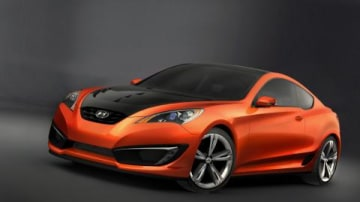 Hyundai Concept Genesis Coupe unveiled