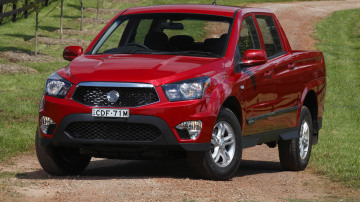 2012 SsangYong Actyon Sports On Sale In Australia
