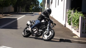 Easy rider: thanks to stubby proportions and a light kerb weight, the 659 quickly inspires confidence through corners.
