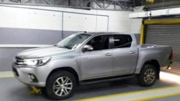 2016 Toyota HiLux shown undisguised