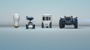 2018 Honda CES robots