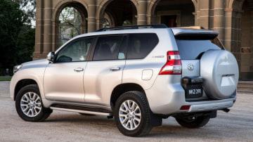 New Toyota Prado.