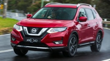 Mid-size SUV comparison: Nissan X-Trail Ti AWD petrol.