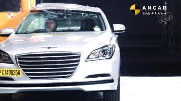 ANCAP praised the car for its long list of standard features.