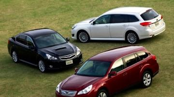 2010 Subaru Liberty Touring Revealed