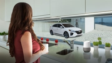 2017 Hyundai Blue Link Google Assistant