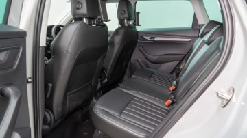 Karoq rear seat offers fore-aft adjustment