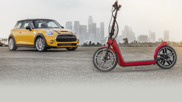 MINI Kicks Into Traffic With Citysurfer Electric Scooter Concept