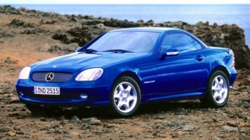 1997 Mercedes SLK.
