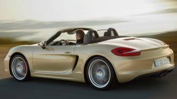 The new Porsche Boxster.