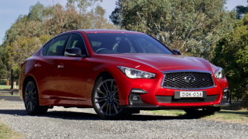 2018 Infiniti Q50 Red Sport new car review