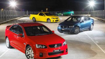 Holden Redline SSV and Calais.