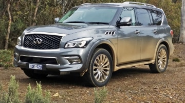 2015 Infiniti QX80 Premium Review: Infiniti's Luxurious 'Brick With Eyes'