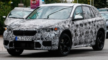 Next-generation BMW X1 has been snapped during testing. Source: Automedia.