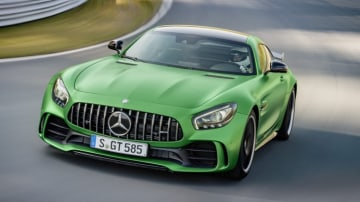 The Mercedes-AMG GT R is set to be joined by convertible.