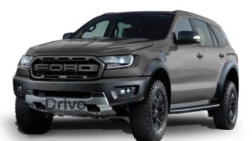 Ford Everest Raptor rendering by Drive.com.au