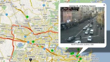 TrafficHawk Gives Live Updates On Sydney Traffic