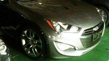 2013 Hyundai Genesis Coupe Update - Spied