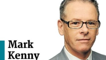 Mark Kenny dinkus