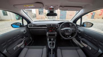 2018 Citroen C3 interior.