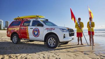 Isuzu storms the beaches, replaces Holden at Surf Life Saving Australia