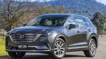 The all-new Mazda CX-9 has enough room to haul the whole team to the game.