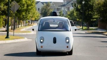 Google's Waymo self-driving prototype.