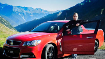Australia's former Tour de France winner, Cadel Evans, drives a Holden SS ute, so it's safe to assume its a quality vehicle for cyclists.