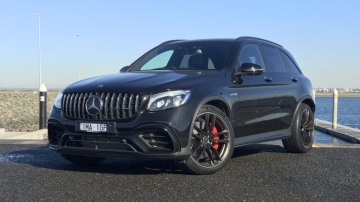Mercedes-AMG GLC63 2018 review