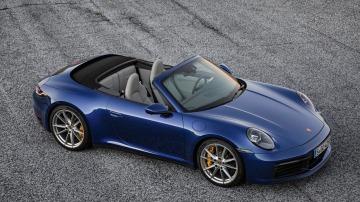 Porsche reveal 911 Cabriolet