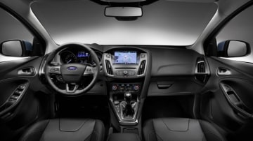 The interior of the 2015 Ford Focus has been overhauled.