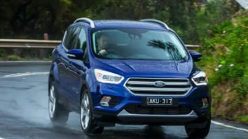 Mid-size SUV comparison: Ford Escape Titanium AWD petrol.