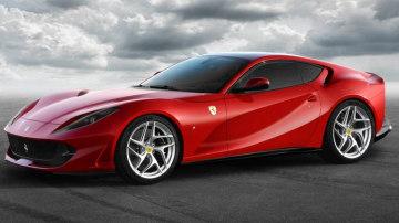 The Ferrari 812 Superfast.