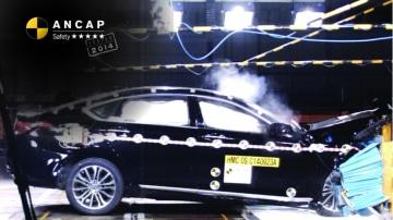 Hyundai's Genesis sedan received a record ANCAP score.