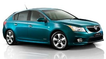 Price jump for Holden Cruze