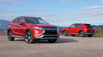 The new Mitsubishi Eclipse Cross may get the Ralliart treatment.