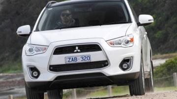 Mitsubishi ASX Aspire diesel.