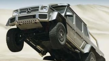Drive gets behind the wheel of radical new 400kW six-wheel Mercedes-Benz G64 AMG SUV.