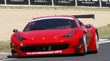 Ferrari 458 GT3.