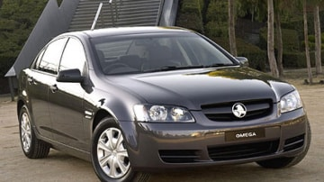 Australia's top-selling car, the Holden Commodore