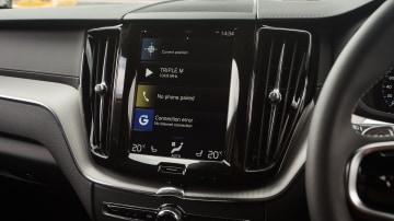 Drive Car of the Year Best Medium Luxury SUV 2021 winner Volvo XC60 infotainment