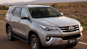 Toyota Fortuner first drive review