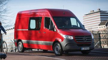 2018 Mercedes-Benz Sprinter first drive review