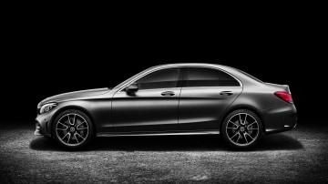 2018 Mercedes-Benz C-Class.