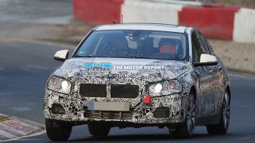 BMW 1 Series Sedan Spied Testing
