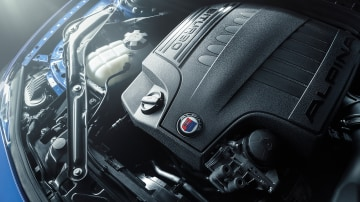 Alpina's twin-turbocharged six-cylinder engine.