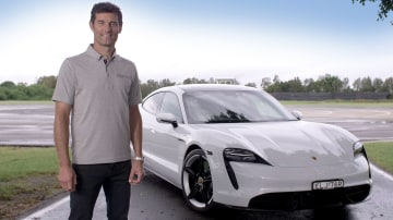 Mark Webber's 'surprise' for Porsche Taycan owners
