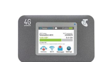Telstra wi-fi hotspot.